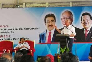 Najib gesa Tun Mahathir berhenti hasut rakyat