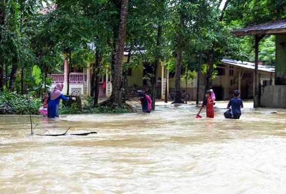 Banjir: 17 sekolah di empat jajahan di Kelantan tutup esok