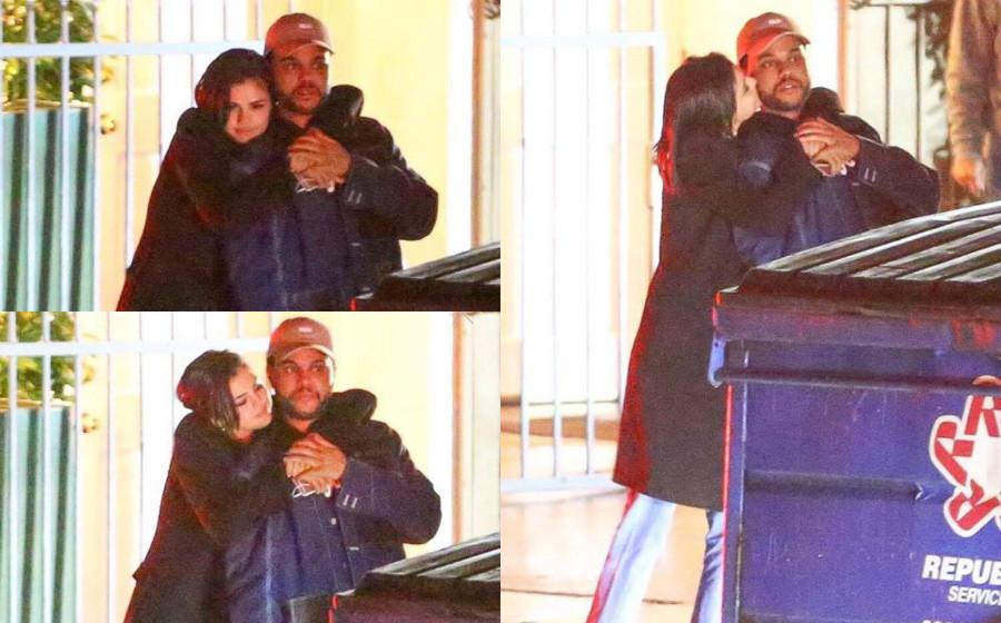 Paparazzi rakam aksi Selena Gomez cium The Weeknd
