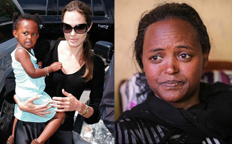 Ibu kepada anak angkat Angelina Jolie rayu mahu jumpa anak kandungnya