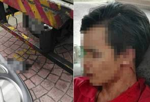 Driver assaulted for accidentally ramming lorry into Datuk's Mercedes-Benz