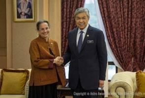 New US Ambassador to Malaysia calls on DPM Zahid