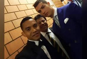 Impian tercapai, Faiz Subri rakam swafoto dengan Ronaldo
