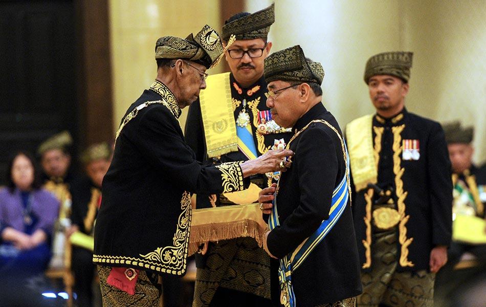 Sultan Kedah, Tuanku Abdul Halim Mu'adzam Shah, Istana Anak Bukit,