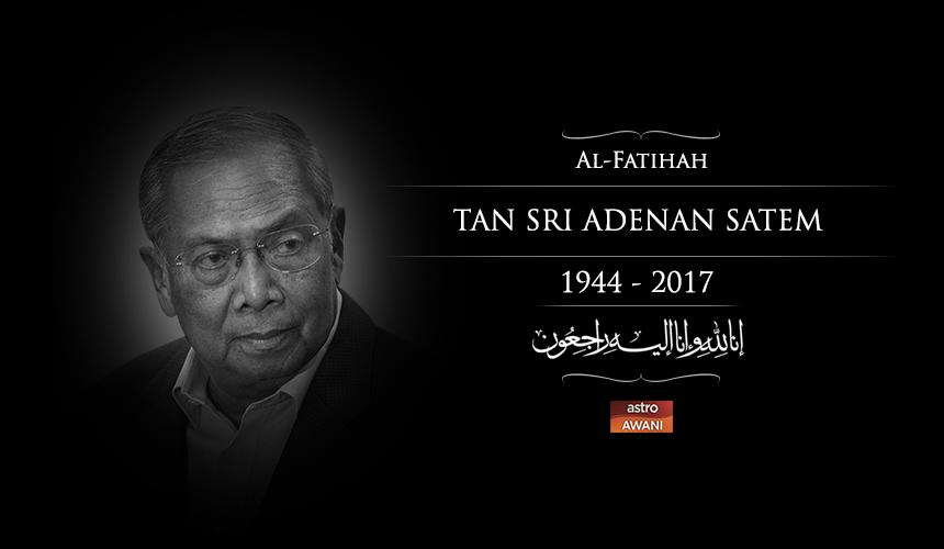 LIVE UPDATE: Tan Sri Adenan Satem's final journey