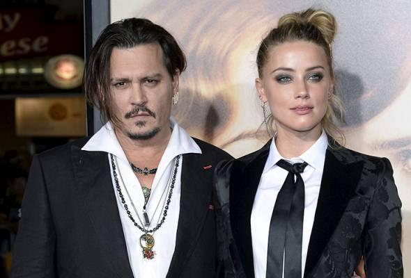 Pelakon Johnny Depp, Amber Heard muktamad perceraian