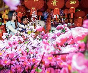 Persiapan Tahun Baru Cina