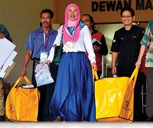 Menjelang pilihan raya kecil Tanjong Datu