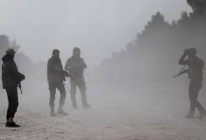 Turkish-led forces advance into outskirts of Syrian city