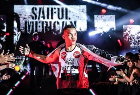 MMA: Saiful Merican kembali beraksi di pentas ONE Championship