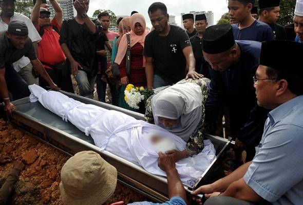 Kemalangan berbasikal, semua mayat sudah dituntut keluarga