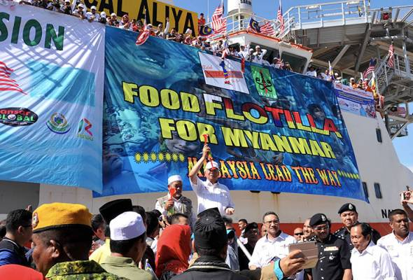 'Food flotilla for Myanmar' not just a humanitarian mission but stop atrocities against Rohingyas
