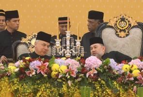 Agong berangkat ke Majlis Santapan Malam sempena Mesyuarat Majlis Raja-Raja