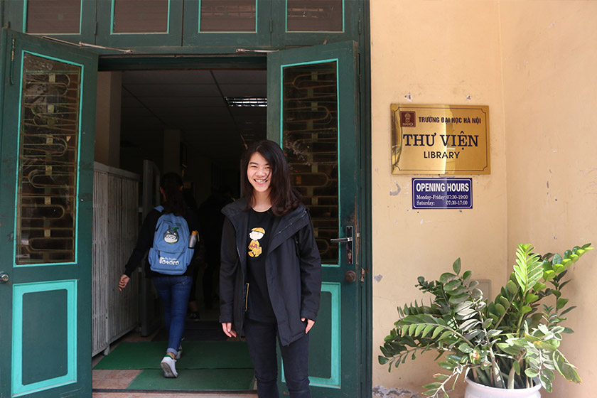 Yeen studies Spanish at Hanoi University and is the first in her family to attend university. Karim Raslan Photo