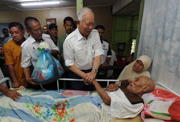 Veteran UMNO terharu terima kunjungan PM Najib