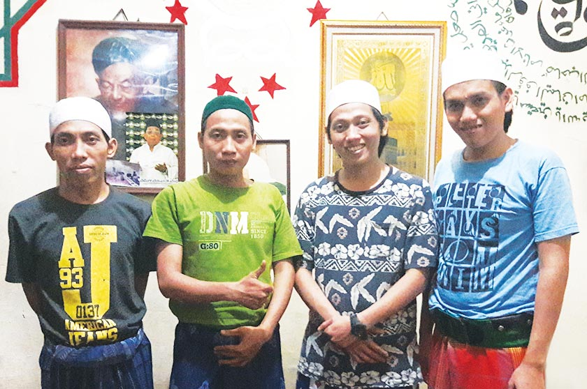 Ahmad Zakarsih (second from left) with his brothers. - Karim Raslan Photo