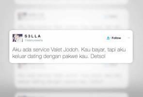 Valet jodoh untuk mereka yang 'forever alone'