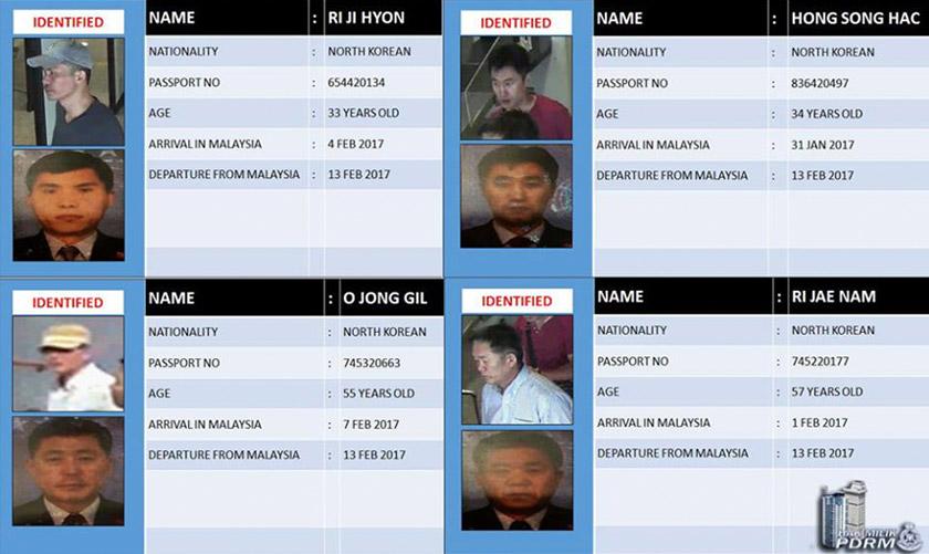 Timbalan Ketua Polis Negara, Tan Sri Noor Rashid Ibrahim berkata polis Malaysia kini sedang bekerjasama dengan Interpol buru empat suspek yang telah meninggalkan negara pada hari kejadian. - Foto PDRM