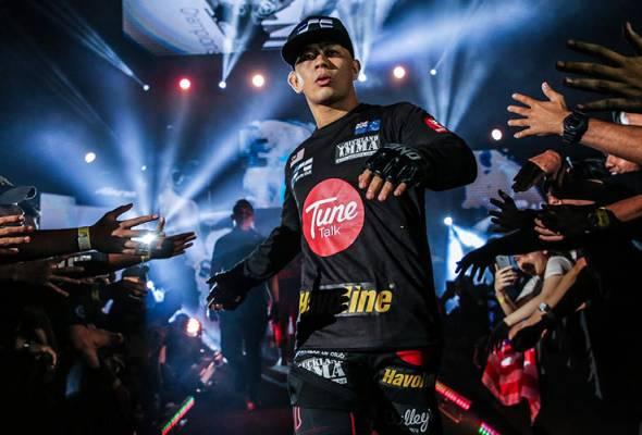 Malaysian MMA hero Ev Ting said is looking forward to redeem himself at ONE Championship's fight in Kuala Lumpur tonight.