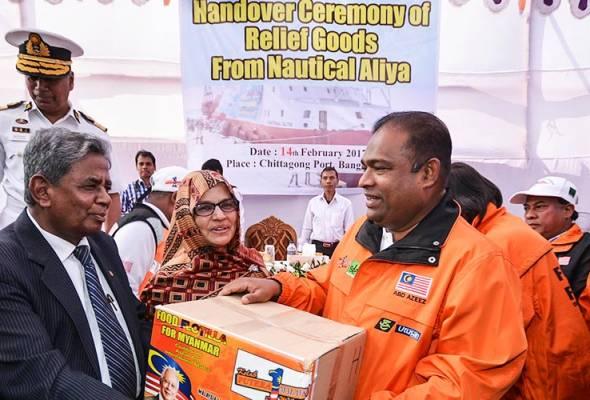 Misi ini mencatatkan sejarahnya tersendiri apabila diiktiraf sebagai misi terbesar dalam bantuan kemanusiaan di Malaysia.