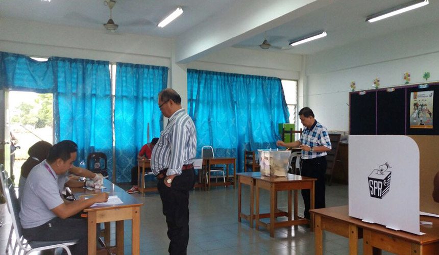 LIVE UPDATE: Tanjong Datu by-election