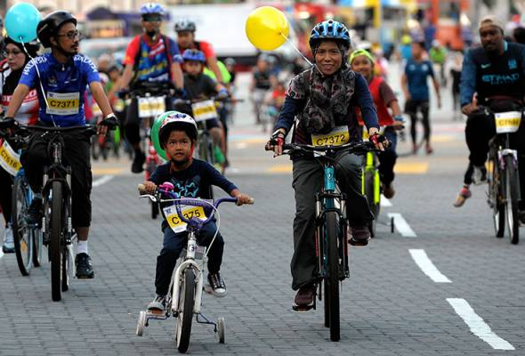 The plan to make KL a 'bicycle-friendly city' was hatched in 2012 but yet four years down the road nothing much seems to have been done.