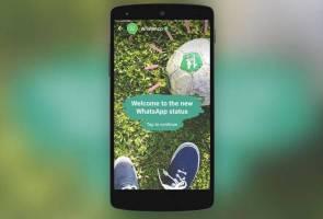 WhatsApp ada ciri 'story' seperti Instagram?