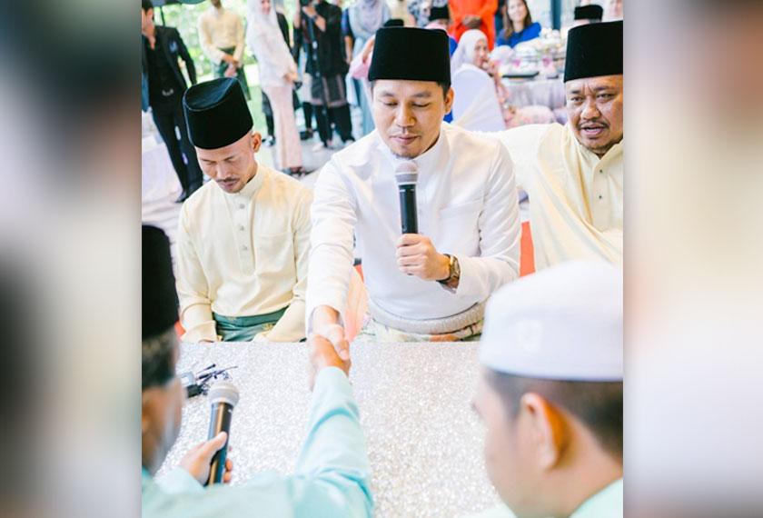 Foto pernikahan dari akaun Instagram Jep Sepahtu.