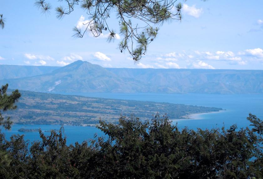 Lake Toba or Danau Toba is a growing tourist hub in North Sumatra. Karim Raslan Photo