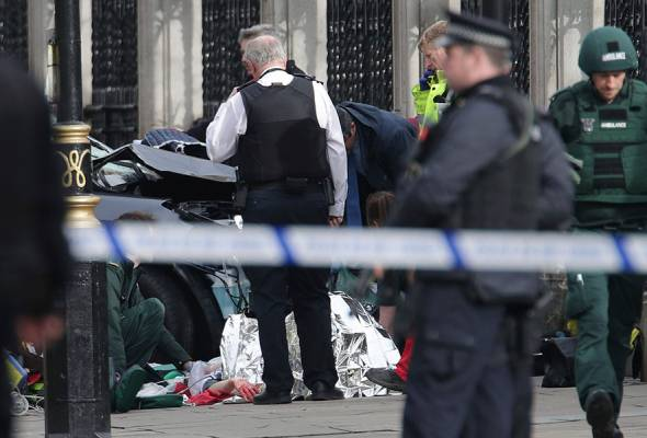 Two people died in the incident, according to Sky News, but the total number of casualties was unclear.