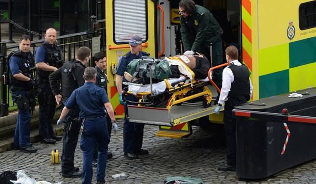 Westminster attacker known as Khalid Masood