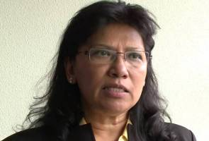 Malaysian activist, Sarojeni Rengam to the fore
