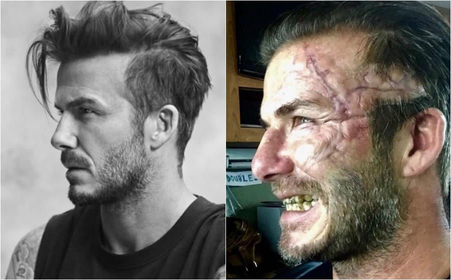 Peminat terkejut lihat sisi hodoh David Beckham