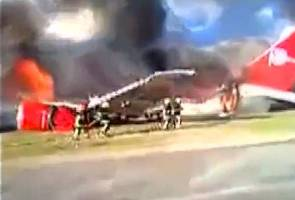 Image result for peru airline 141 caught fire