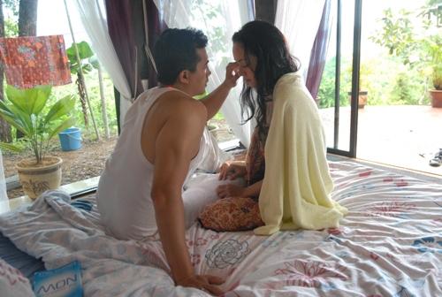 Satu babak dari filem Ombak Rindu