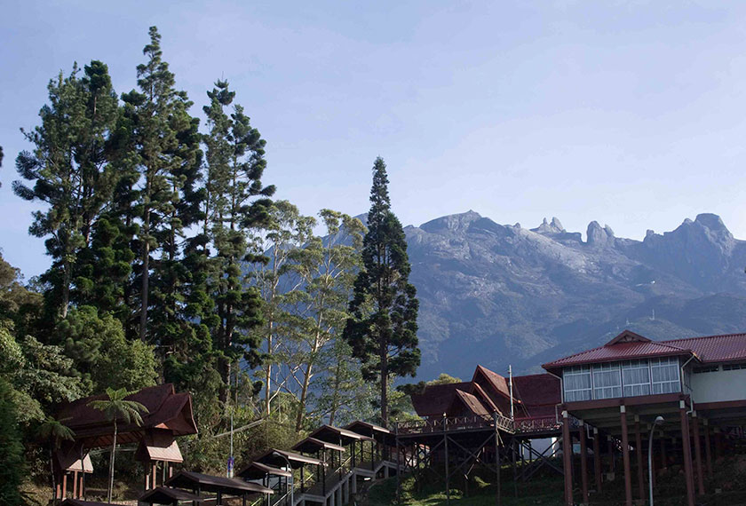 Mount Kinabalu is the tallest mountain in Southeast Asia at 4,095 m. sabahtourism.com