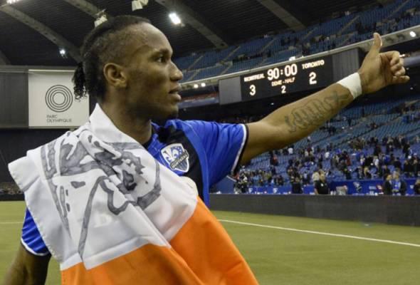Drogba akan bersara pada akhir musim USL
