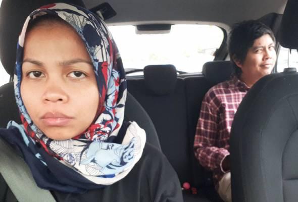 Apabila suami jadi penumpang Uber