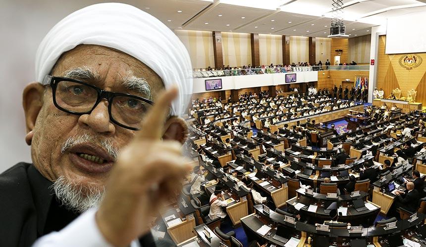 [LIVE UPDATE] Hadi's Bill tabled in Parliament