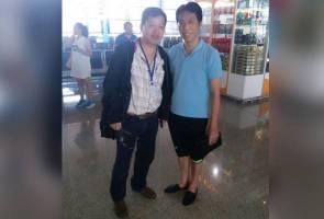 Peter Chong selamat kembali ke tanah air