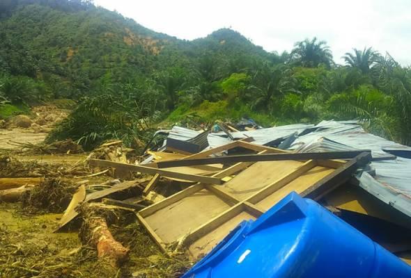 Tanah runtuh Tongod: Operasi SAR tujuh mangsa hilang diteruskan - Bomba