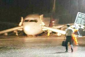 Pegawai AAIB masih siasat insiden pesawat MH2718 tergelincir
