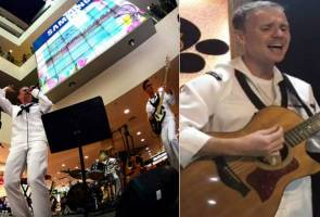 Video of US navy band singing 'Assalamualaikum Ustazah' goes viral