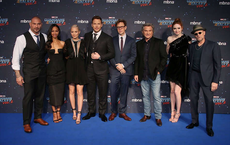Cast and director | Guardians Of The Galaxy Vol. 2 in ...
