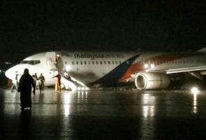 Malaysia Airlines aircraft skid handled well by captain