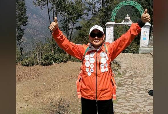 Pendaki tertua Malaysia tiba di Everest Base Camp, cuba kali ketiga untuk tawan Gunung Everest