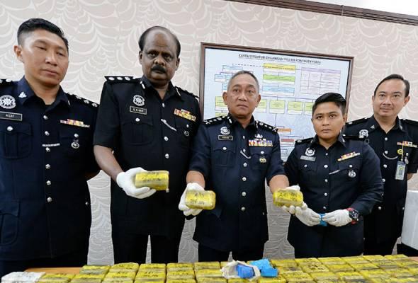 Polis siasat jika Perak jadi transit seludup pil kuda