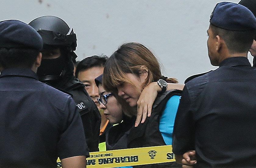 SIti Aisyah, warga negara Indonesia, disyaki terlibat dalam kes pembunuhan Kim Jong Nam