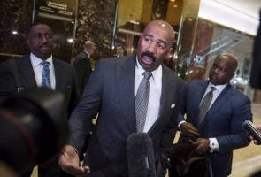 Steve Harvey says Trump has kept his promises to him, but that doesn't mean the comedian is 'happy' with the president