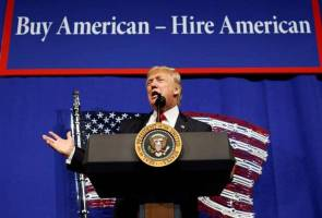 Trump's decision was not a huge surprise, given his election campaign pledge to put American jobs first.